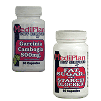Combo of Fat, Sugar, and Starch Blocker and Garcinia Cambogia