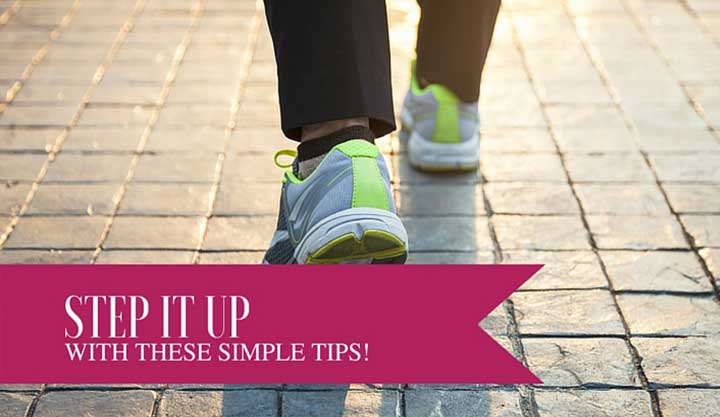 9 Simple Ways to Get Your 10,000 Steps