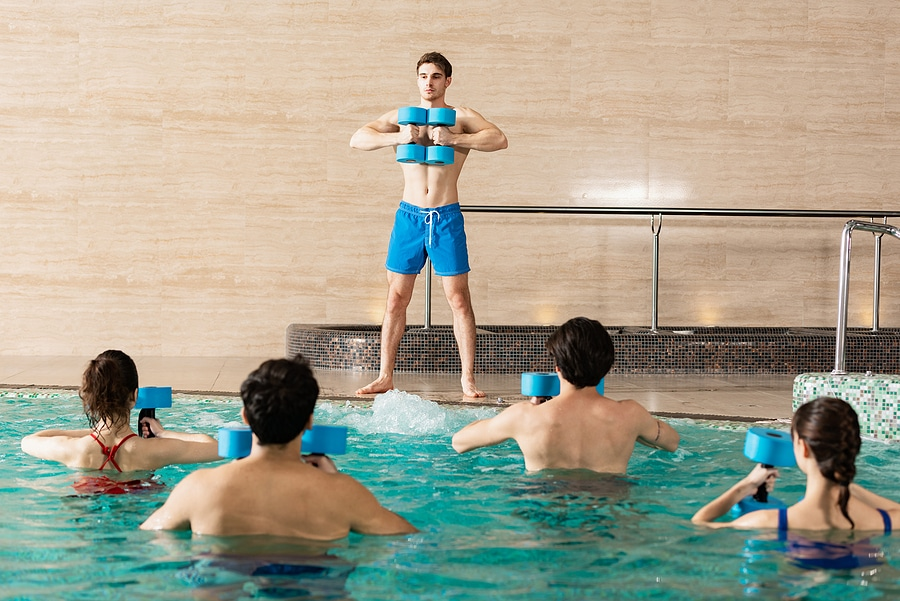 Cool Down and Slim Down By Swimming